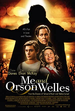 Me and Orson Welles Poster Image
