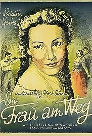 Die Frau am Wege Poster