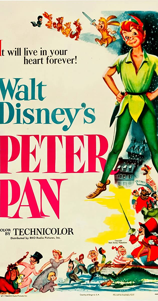 Play or Watch Movies for free Peter Pan (1953)