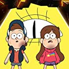 Jason Ritter, Kristen Schaal, and Alex Hirsch in Gravity Falls (2012)