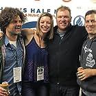 Aaron Wertheimer, Chris Roberti, Kenny Zimlinghaus, and Kate Villanova at an event for Skippers (2018)
