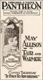 Fair and Warmer (1919) Poster