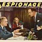 Madge Evans, Russell Hicks, and Paul Lukas in Espionage (1937)