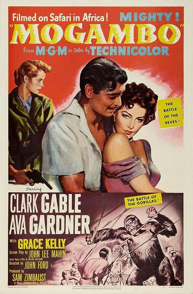 Clark Gable, Grace Kelly, and Ava Gardner in Mogambo (1953)