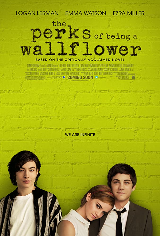 Logan Lerman, Emma Watson, and Ezra Miller in The Perks of Being a Wallflower (2012)