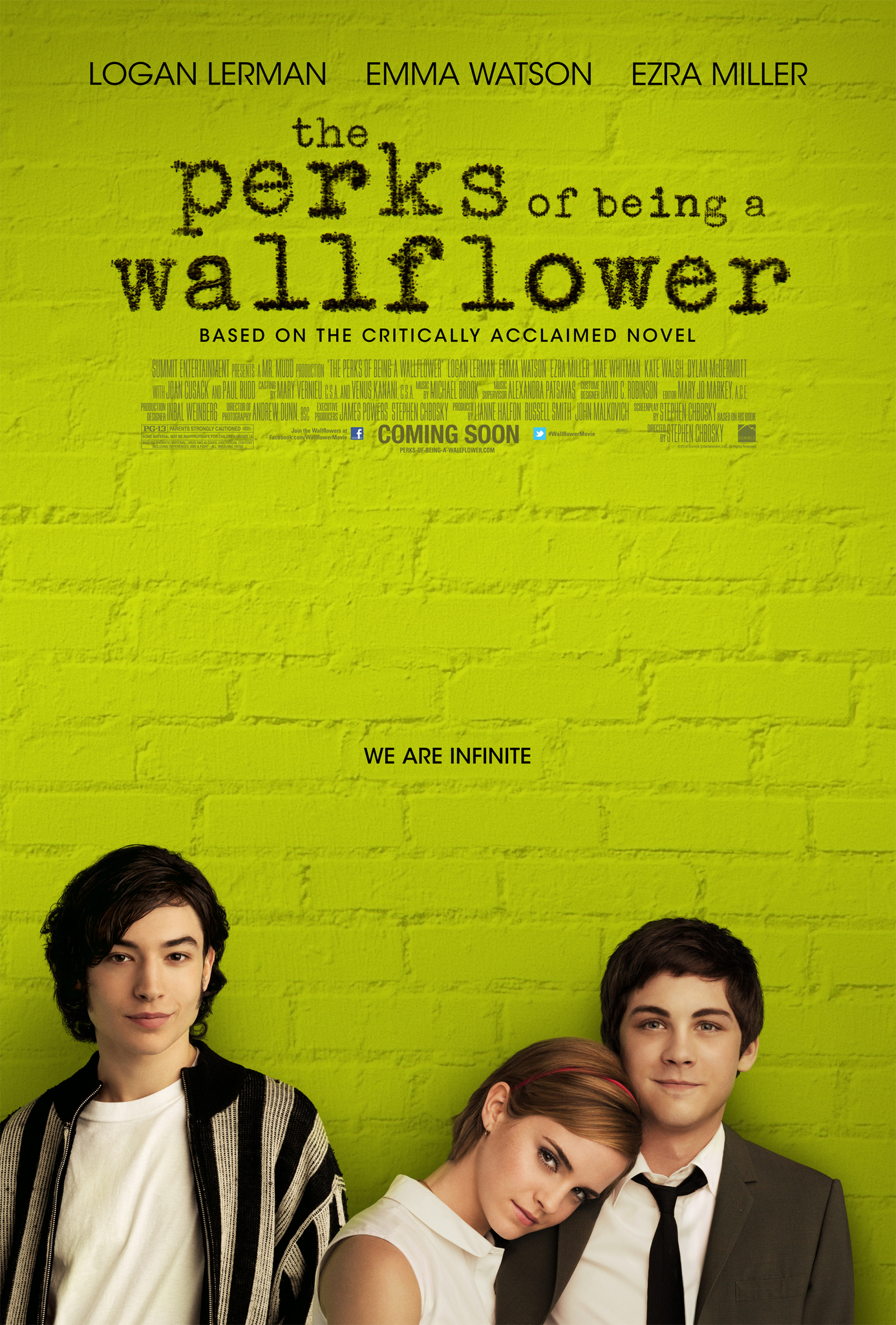 The Perks of Being a Wallflower (2012) BluRay 480p, 720p & 1080p