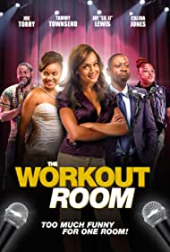 Joe Torry, Tammy Townsend, Danny Wooten, Crystal Kelley, and Calida Jones in The Workout Room (2019)