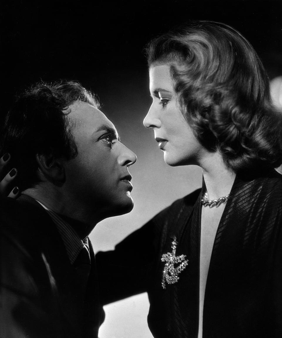 Cornell Borchers and Will Quadflieg in Schwarze Augen (1951)