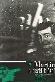 Martin a devet bláznu Poster