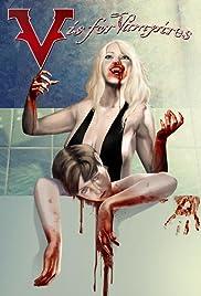 V Is for Vampire Poster