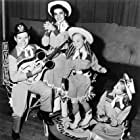 Annette Funicello, Bobby Burgess, Cheryl Holdridge, and Karen Pendleton in The Mickey Mouse Club (1955)