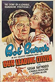 Susan Hayward and Bob Burns in Our Leading Citizen (1939)