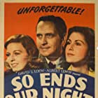Glenn Ford, Frances Dee, Fredric March, and Margaret Sullavan in So Ends Our Night (1941)