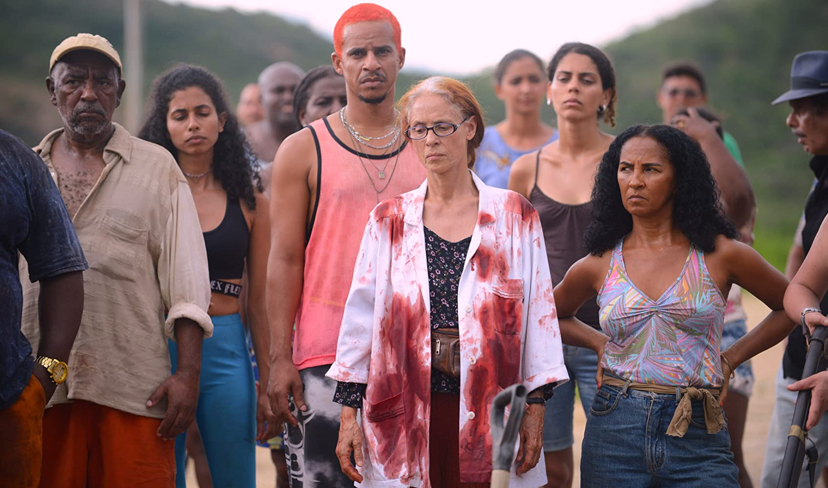 Sônia Braga and Luciana Souza in Bacurau (2019)