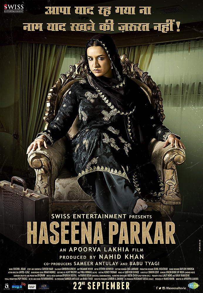 Haseena Parkar 2017 Movie HDRip 300mb 480p 1GB 720p