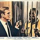 Stanley Baker and Ken Gampu in Dingaka (1964)