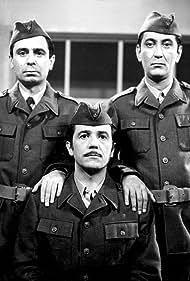 Slobodan Aligrudic, Vlastimir 'Djuza' Stojiljkovic, and Bora Todorovic in Radjanje radnog naroda (1969)