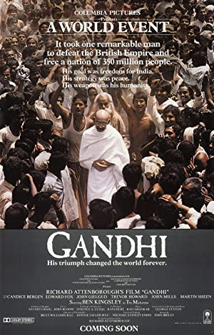 History Gandhi Movie