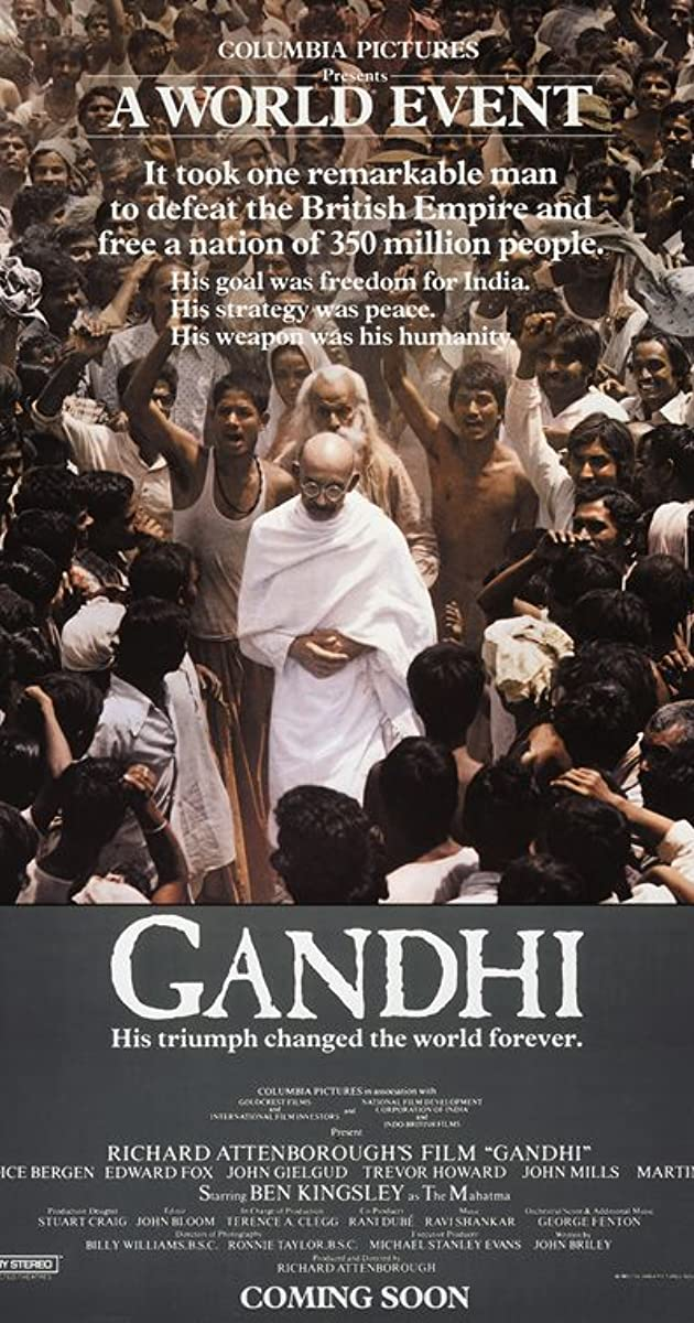 gandhi film stream
