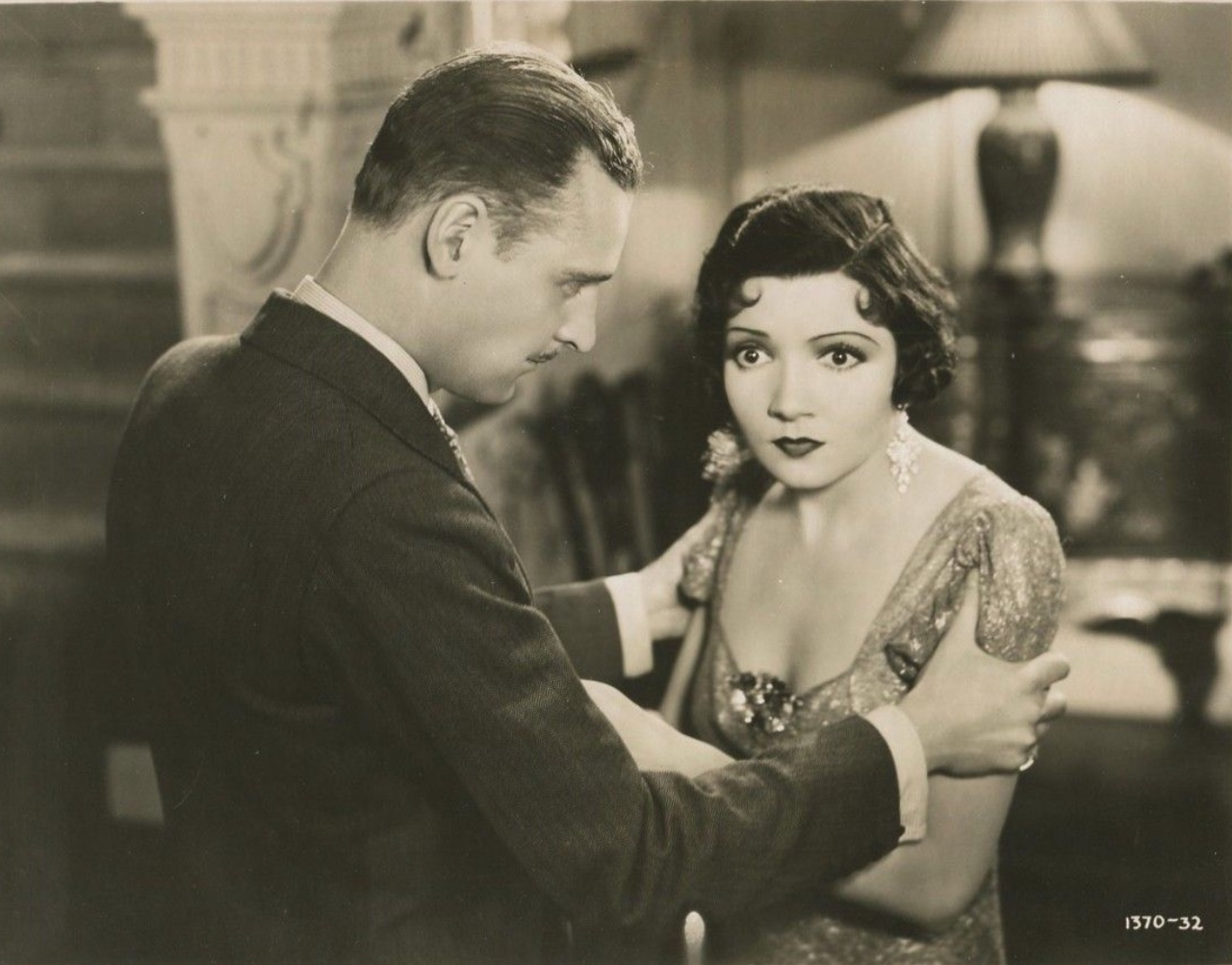 Claudette Colbert and George Meeker in The Misleading Lady (1932)