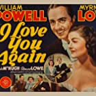 Myrna Loy, William Powell, and Frank McHugh in I Love You Again (1940)