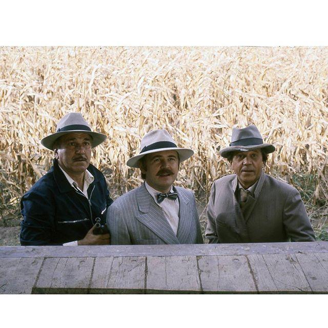 Aleksandar Bercek, Bora Todorovic, and Velimir 'Bata' Zivojinovic in Balkan ekspres 2 (1989)
