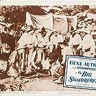Gene Autry, Jose Alvarado, Robert Espinoza, Antonio Filauri, Neyle Morrow, and Artie Ortego in The Big Sombrero (1949)