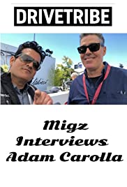Migz interviews Adam Carolla at Pebble Beach Concours d'Elegance Poster
