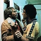 Adam Faith and Ian McShane in Yesterday's Hero (1979)