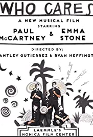 Paul McCartney: Who Cares Poster