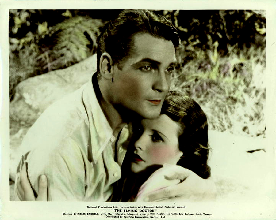 Charles Farrell and Mary Maguire in The Flying Doctor (1936)