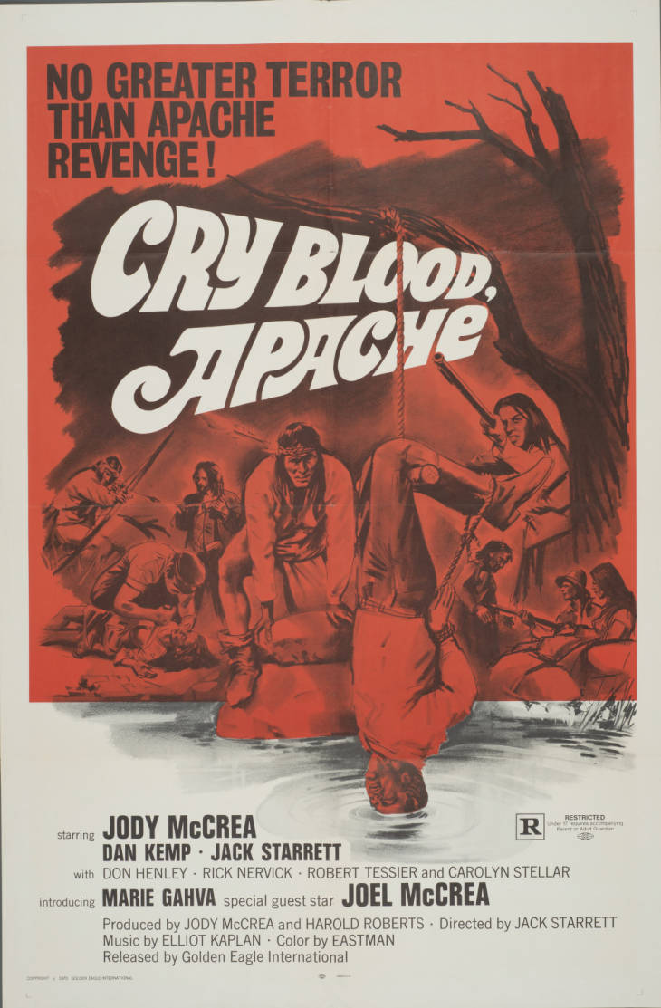 Cry Blood, Apache (1970)