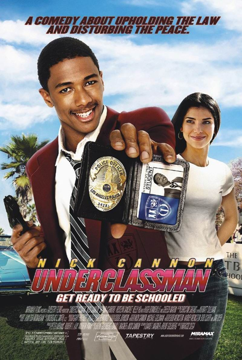Nick Cannon and Roselyn Sanchez in Underclassman (2005)