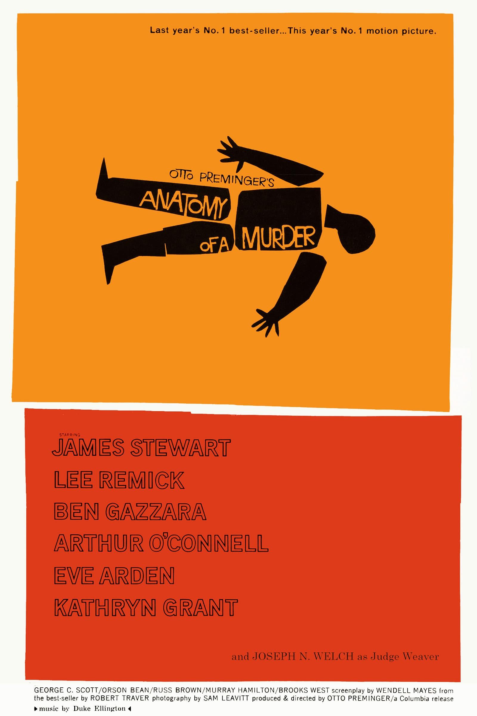 Anatomy Of A Murder 1959 Imdb