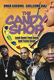Guillermo Díaz, Omar Gooding, Cheryl Francis Harrington, and Ray Stoney in The Candy Shop (2008)