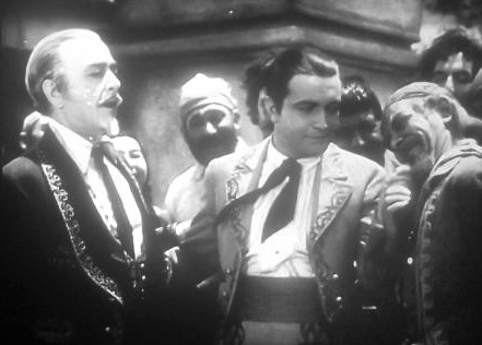 Richard Barthelmess, Robert Edeson, and Arthur Stone in The Lash (1930)