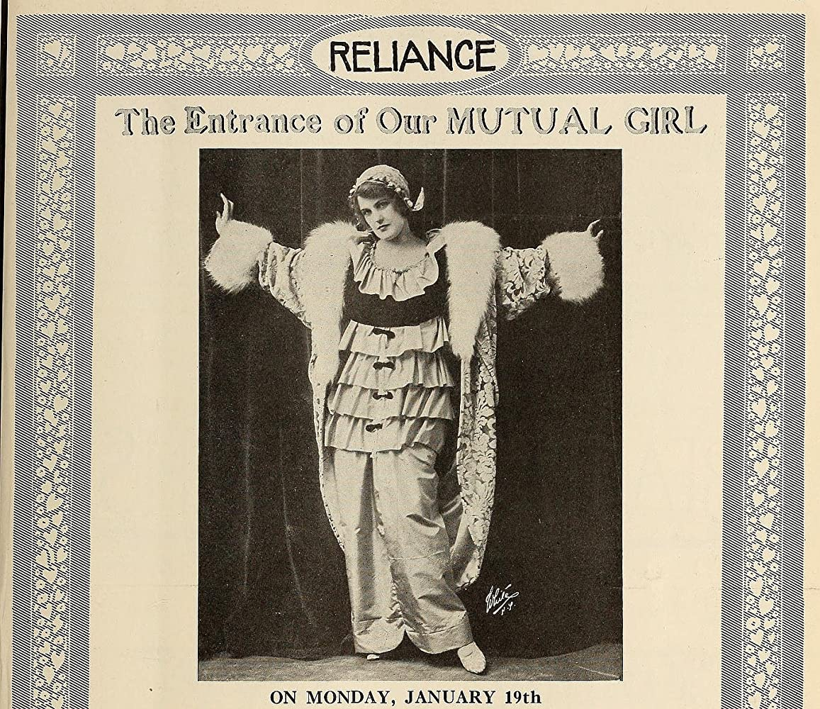 Norma Phillips in Our Mutual Girl (1914)