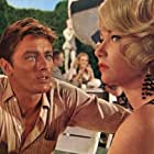 Shirley MacLaine and Alain Delon in The Yellow Rolls-Royce (1964)