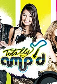 James A. Woods, Demetrius Joyette, Ashley Leggat, Cristine Prosperi, Camden Angelis, Brock Morgan, and Amanda Thomson in Totally Amp'd (2011)
