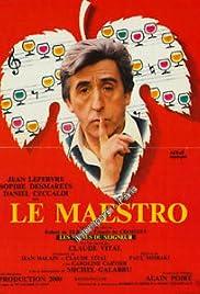 Le maestro Poster
