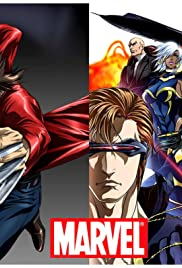 Marvel Anime Poster