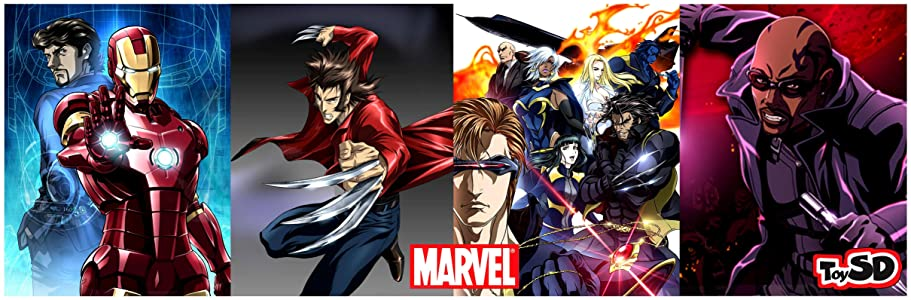 Marvel Anime by Ray Lee