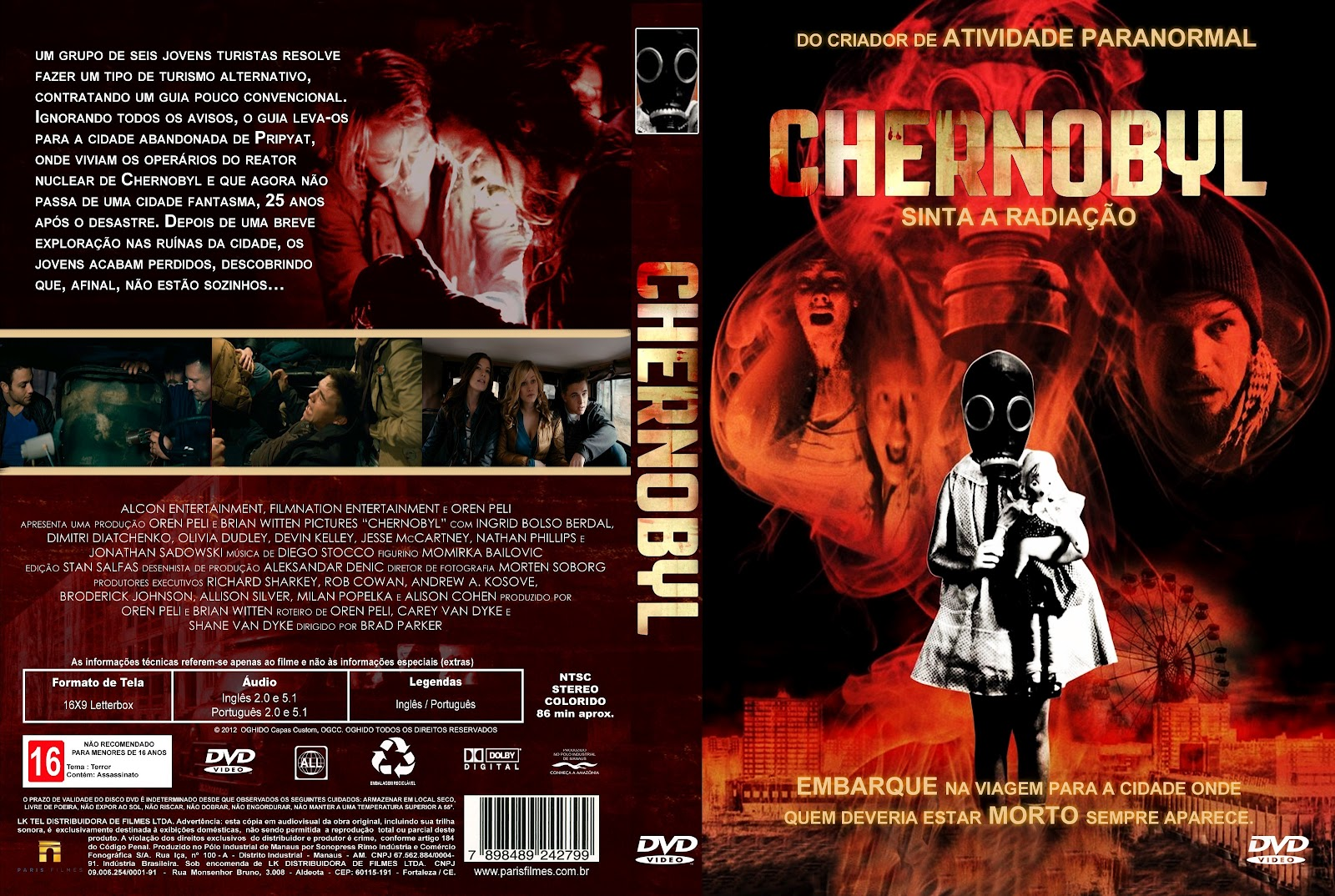 Dimitri Diatchenko, Jesse McCartney, Nathan Phillips, Jonathan Sadowski, Ingrid Bolsø Berdal, Olivia Taylor Dudley, and Devin Kelley in Chernobyl Diaries (2012)