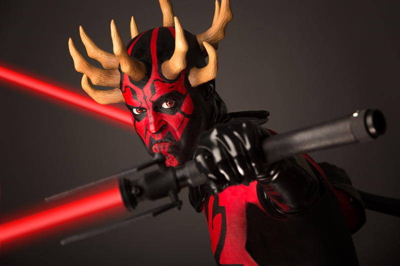 Rick Prince as Darth Maul from IMATS