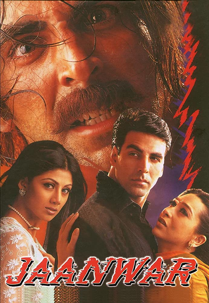 Jaanwar (1999) Hindi 720p HDRip x264 1.2GB