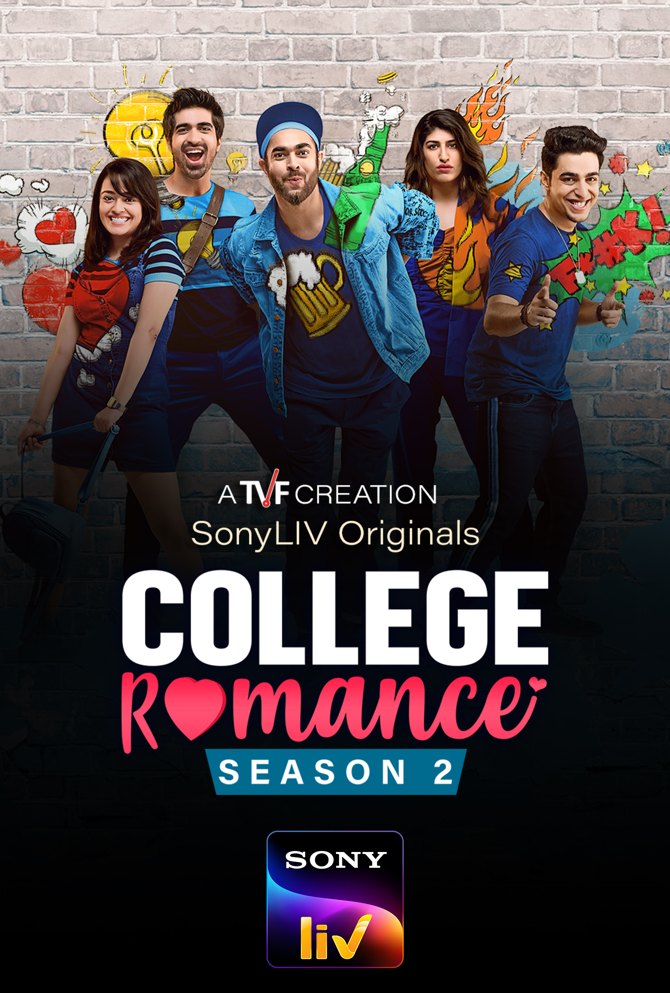 Download College Romance 2018 (Season 1 – 2) Hindi {TVF Series} All Episodes WeB-DL | 720p
