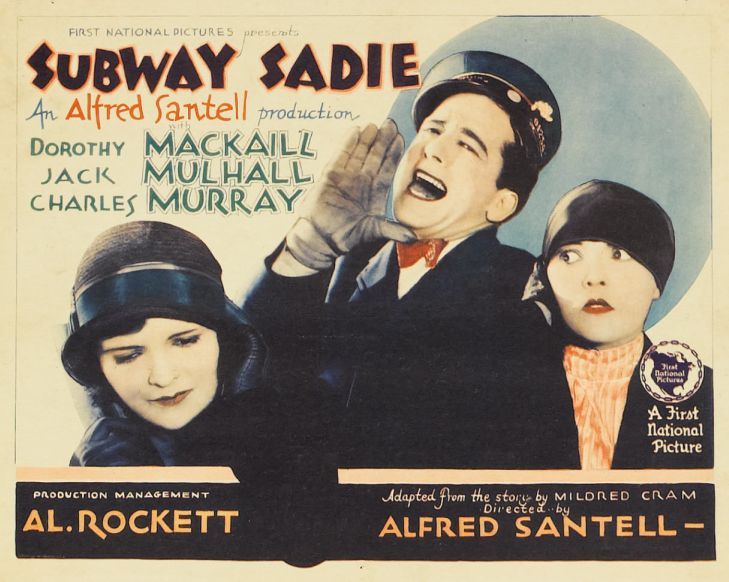 Dorothy Mackaill, Jack Mulhall, and Peggy Shaw in Subway Sadie (1926)
