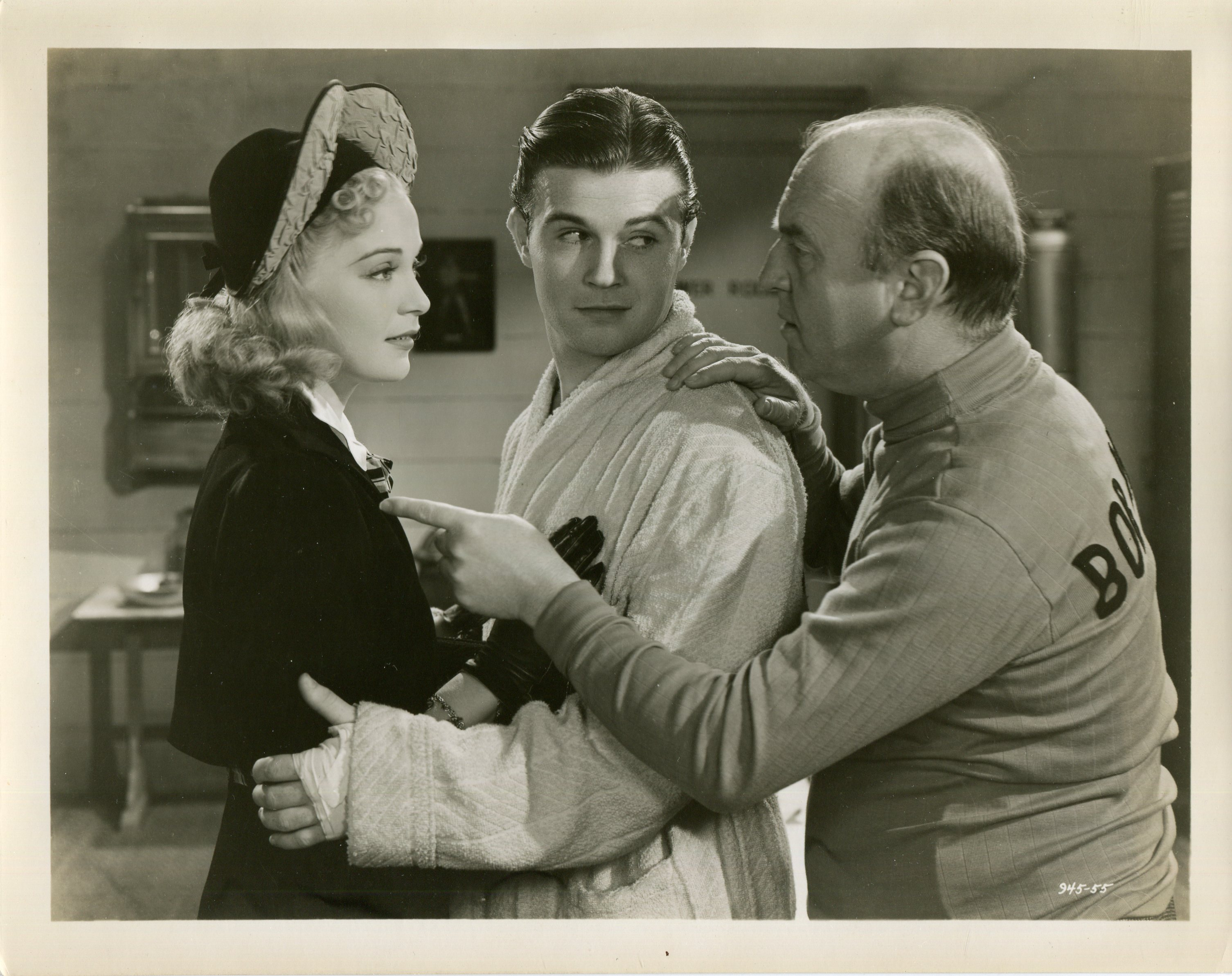 Tom Brown, William Frawley, and Nan Grey in Ex-Champ (1939)