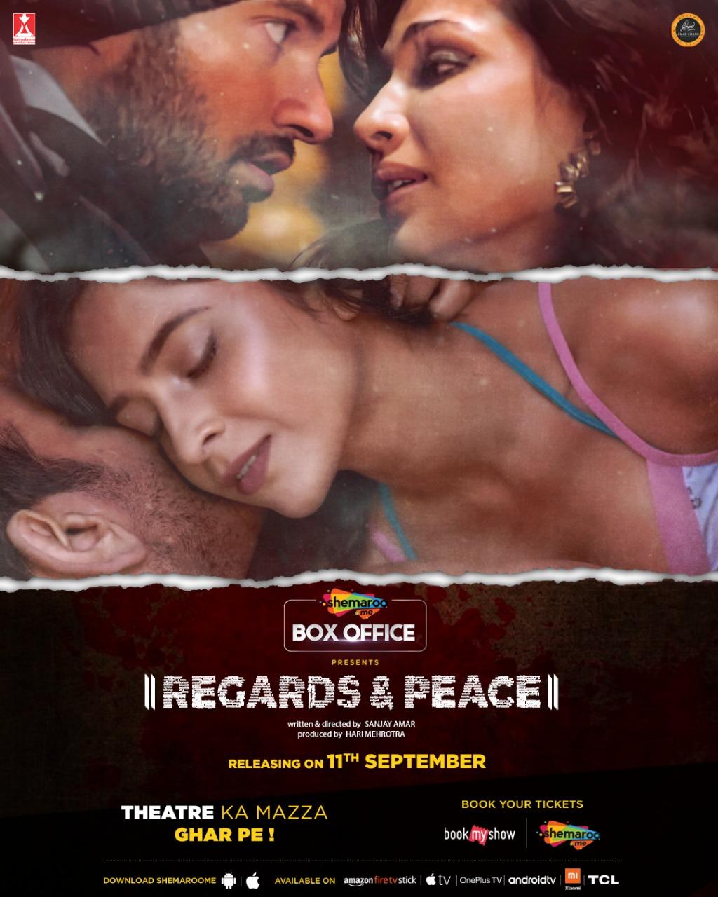 Regards & Peace 2020 Hindi 720p HDRip 800MB Free Download