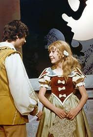 Magda Bicíková and Antonín Navrátil in Predeme, predeme zlatou nitku (1981)